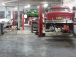 Some of the cars through the workshop